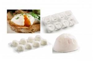 Moulded Poached Egg