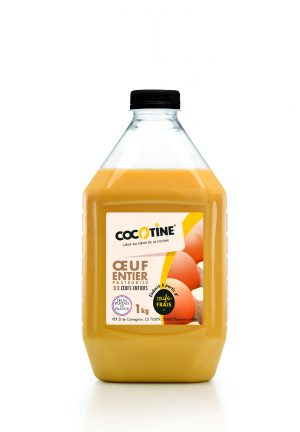 Cocotine Pasteurised Whole Egg 1kg